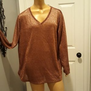 Tops - Cinnamon spice plus size 1X blouse top tunic shirt